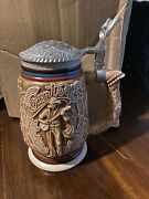 Vtg 1994 Avon Fine Collectibles Country And Western Music Stein Beer Mug Freeship