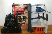 Star Wars Death Star Space Station Playset / Darth Vader Case And Action Figures