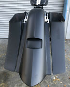 12014-18 Harley Touring Custom Bagger 7 Stretch Saddlebags Fender And Side Covers