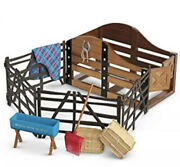 New American Girl Horse Stable And Supplies Blanket Bucket Corral Hay Fences Tack