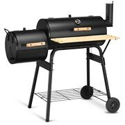 Costway Bbq Grill Charcoal Smoker Barbecue Pit Patio Backyard Meat Smoker