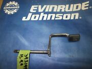Johnson Evinrude 9.9 And 15 Hp Locking Lever And Shaft Assy. 393199 Stamped 320514