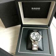 Rado D-star200 Automatic Chronograph Menand039s Analog Wristwatch Shipped From Japan