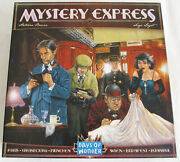 Mystery Express Board Game Orient Express Railroad Days Of Wonder 100 Nm Oop
