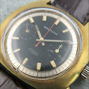 Waltham Incabloc 17 Jewel All Stainles Steel Swiss Made Menand039s Wristwatch