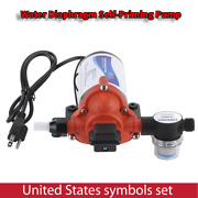 115v Ac 3.3gpm 45psi 33‑series Self Priming Water Pressure Diaphragm Pump Rv