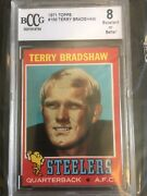 1971 Terry Bradshaw Topps Rookie Card