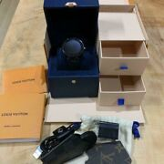 Louis Vuitton Swiss Made Analog Wristwatch For Adult With Box Shipped From Japan