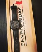 Sevenfriday Fresh From The Press Menand039s Analog Wristwatch Shipped From Japan