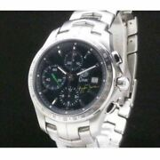 Tag Heuer Chronograph Cjf2113 Senna Model Watch With Box Limited To 2004 Pieces