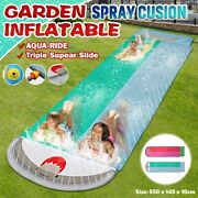 Water Skiing Summer Water Toys Outdoor Grass Inflatable Spray Slip Sheets Mat