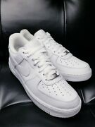 Nike Air Force 1 White Sz10m Fully Restoand039d Excellent
