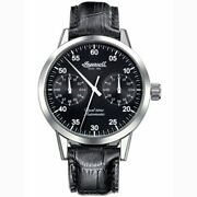 Ingersoll Sitting Bull Automatic Dual Time Zone In4402bk Black Watch