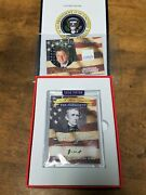 2020 A Word From The President John Tyler Handwritten Word And Bill Clinton Relic
