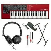 Nord Nl4 Lead 4 Performance Synth W/sustain Pedal Midi Cable And Keyboard Stand