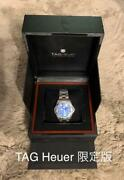 Tag Heuer South Pacific Ocean Waf211p Mens Analog Wristwatch With Box