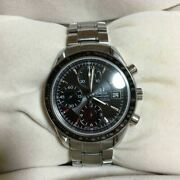 omega Speedmaster 3210.50 Automatic Date Menand039s Watch Shipped From Japan