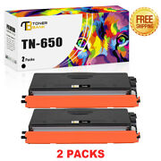 Compatible For Brother Tn650 Toner Dcp-8480dn Mfc-8480dn Mfc-8690dw Hl-5340d Lot