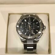 Tag Heuer Aqua Racer Chronograph Analogue Wristwatch For Men Shipped From Japan
