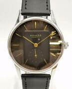 Nomos 808 Orion Stainless Steel Analog Wristwatch For Adult Shipped From Japan