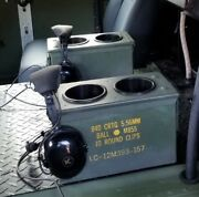 1 Military Humvee Cup Holder Holds 2 Cups Center Console M998 1 Ammo Can
