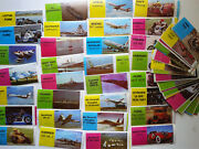 Set Of 72 Pcs Mayfair Chewing Bubble Gum Wrappers Cars, Ships, Plane, Bikes