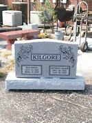 Cemetery Granite Headstone 30x6x20 1099.00includes Engraving Free Shipping