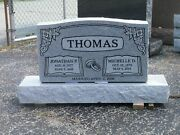 Cemetery Granite Headstone 36x6x20 1199.00 Includes Engraving Free Shipping
