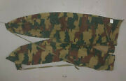 Belgian Jigsaw Camo Pattern Paratrooper Pants - 1958 Dated New / As New