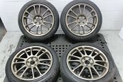 17x7 5x114.3 Et 48 Final Speed Gear R 5x114.3 Wheels With Used Tires