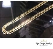 1.5mm- 11mm 14k Solid Yellow Gold Cuban Link Women/ Menand039s Necklace Chain 16-30