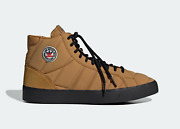 Adidas Originals Basket Profi Suede Classic Shoes In Brown And White
