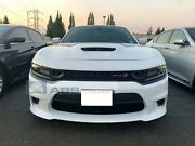 For 15-21 Dodge Charger Srt-8 Hellcat Style Front Bumper W/ Sp Air Duct Grill