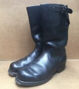 Wwii German Army Officers Pull On Boots Size Eur 41 Uk 7 Usa 8