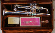 Eaely 70s Olds Ultra Sonic Silver Plated Bb Trumpet Mint