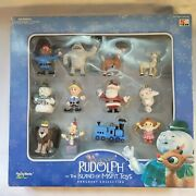 2001 Rudolph And The Island Of Misfit Toys Ornaments Playing Mantis Nos In Box