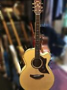 Yamaha Compass Cpx15nⅡ Natural Acoustic Electric Guitar Shipped From Japan