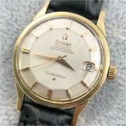omega Constellation Pie Pan Cal.561 Automatic Silver Dial Stainless Steel Menand039s