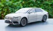 3 Model Cars Lincoln Continental Diecast Model Car 118 Scale White Gold Blue