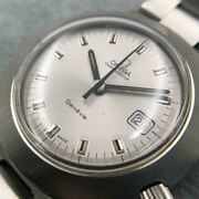omega Geneve Tool107 Chronostop Automatic Silver Stainless Steel Menand039s Watch