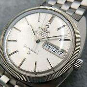 omega Constellation Chronometer Cal.751 Silver Stainless Steel Menand039s Watch