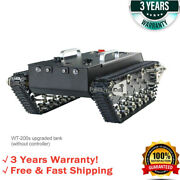 Wt-200s Upgraded Rc Tank Chassis Metal Track Tank Load 30kg Shock Absorber Hot