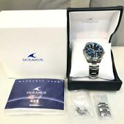 Casio Oceanus Ocw-s4000-1ajf Menand039s Analog Watch Shipped From Japan