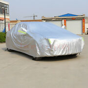Full Car Cover Waterproof All Weather Uv Protection Fit For Focus A3 Golf Yaris