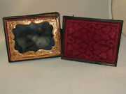 Daguerreotype Photo Post Mortem Baby 1/4 Plate With Case