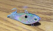 Discontinued Smack Tackle Flitterbait Holofoil White Bass Not Rapala