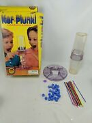 Vintage Kerplunk Game Ideal Toy Company 1995 Close Complete W Original Marbles