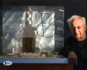 Frank Gehry Signed Autographed 8x10 Photo Celebrated Architect Rare Beckett Bas