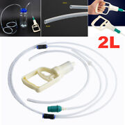 2l Car Motorcycle Oil Fluid Extractor Vacuum Tubing Pump Transfer Remover Tank