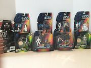 Vintage Star Wars Collectible Action Figures The Power Of The Force Lot Of 8